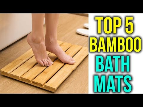 Top 5 Best Bamboo Bath Mats In 2018 Review & Buyers Guide
