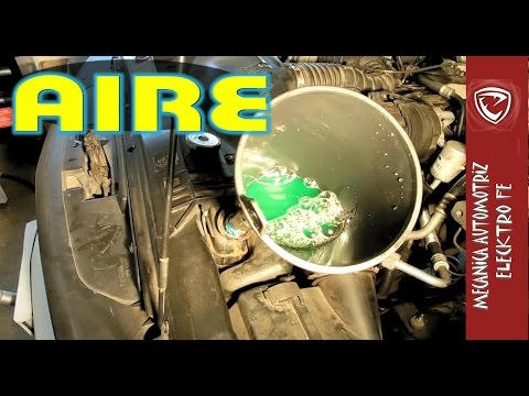 Tips para sacar el AIRE en el sistema de enfriamiento del motor видео