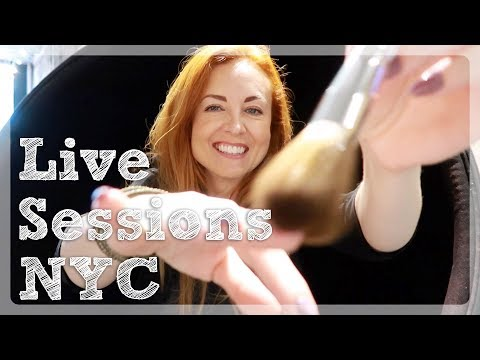 Live ASMR in New York with EVEN 2018 | WhispersRed Vlogs