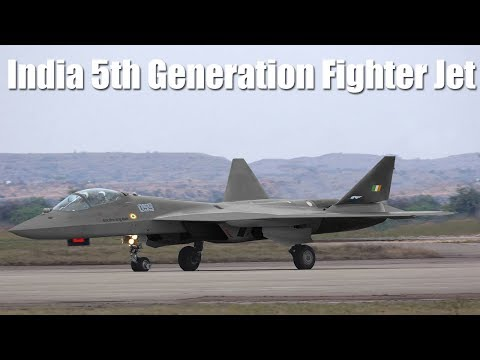 India 5th Generation Fighter Jet...