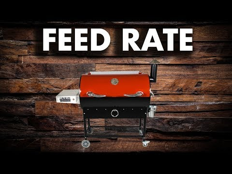 REC TEC Feed Rate Adjustment • REC TEC Grills