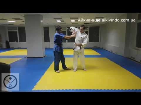 Aikido Tsuki Anti-Sanke. Айкивиндо Цуки Анти Санке.