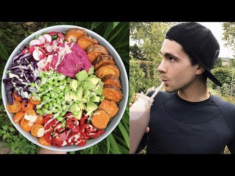 WHAT I EAT IN A DAY || Healthy & Satisfying BOMB VEGAN MEALS