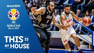 Lebanon v Jordan - Highlights - FIBA Basketball World Cup 2019 - Asian Qualifiers