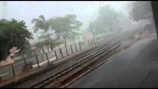 Uma chuva forte com rajadas de vento caiu por 45 minutos nesta segunda-feira em Bambuí, centro-oeste de Minas Gerais. O vídeo foi enviado por João Pedro. Que...