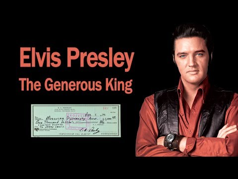 Elvis Presley: The Generous King