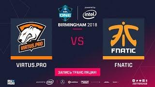 Virtus.pro vs Fnatic, ESL One Birmingham, game 2 [Maelstorm]