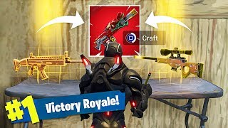 New Legendary Weapons Crafting in Fortnite Battle Royale