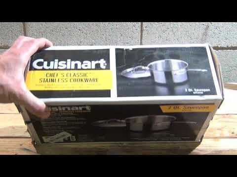 Cuisinart Chef's Classic Stainless 2-Quart Saucepan