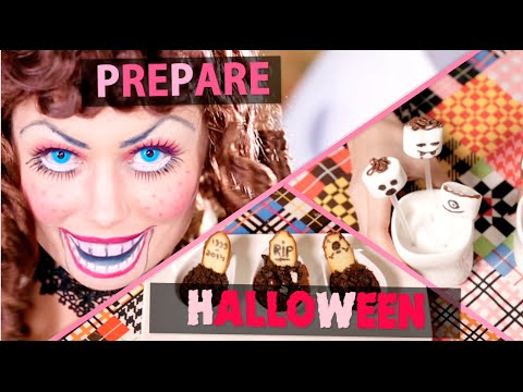 Prépare Halloween