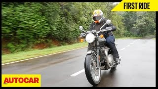 2. Triumph Bonneville T120 | First Ride | Autocar India