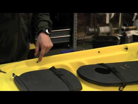 Ocean Kayak Rudder Installation - Part 1