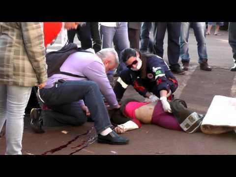Idosa morre após ser atropelada por Caminhão em Três Barras do Paraná