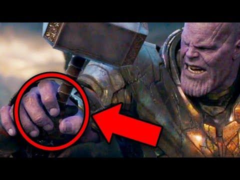 Avengers Endgame Thanos Battle NEW EASTER EGGS Revealed!