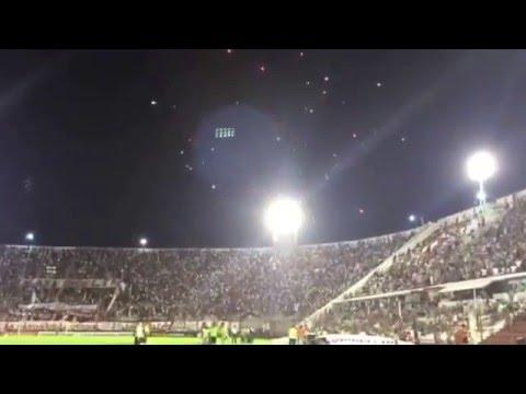 Huracán vs Atl Nacional | Recibimiento - La Banda de la Quema - Huracán