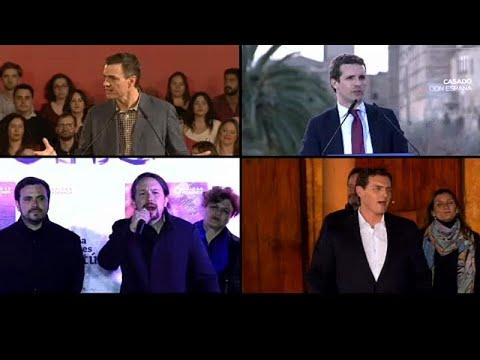 Spanien: TV-Debatte mit 4 Parteichefs - heiße Phase v ...