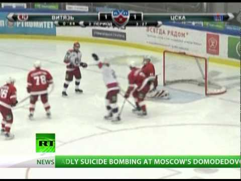 KHL Hockey Highlights: Goalie's worst blunder and best goals of the week