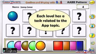 Assessing AABB Patterns YouTube video