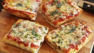 Here is instant solution for lunch or snack. It is so simple and easy and kids are delighted to have this bread pizza. You can add any topping to it and read...