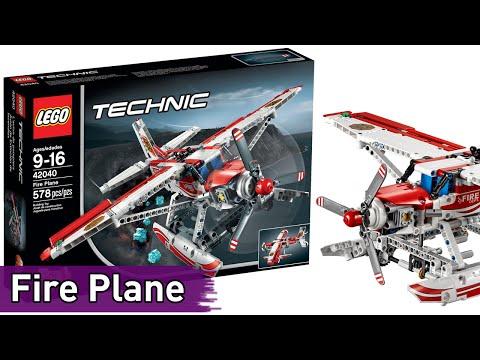 LEGO Technic: Fire Plane (42040) - Brickworm