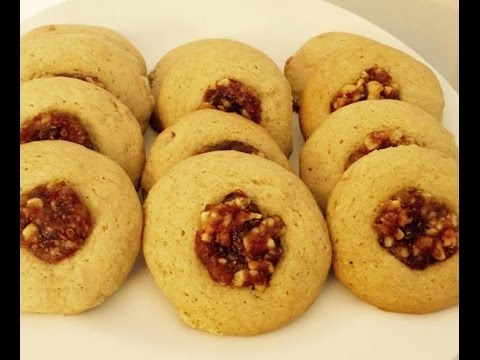 DATE NUT COOKIES   RECIPES MADE EASY   HOW TO MAKE RECIPES (видео)