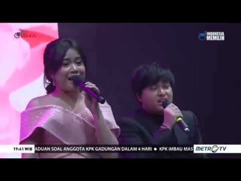 Arsy Widianto, Hedi Yunus dan Brisia Jodie Live on Konser Inspirasi Cinta Yovie & His Friends