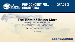 The Best of Bruno Mars, arr. Victor López – Score & Sound