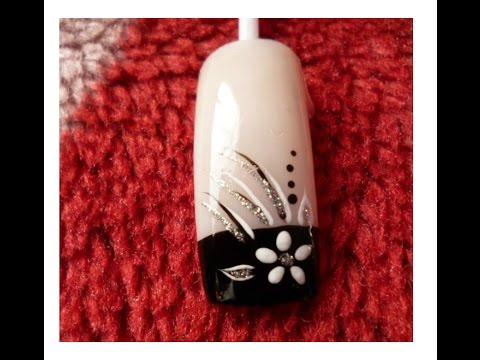 manicure flores - Chicas espero les guste.. http://www.facebook.com/merulloa.