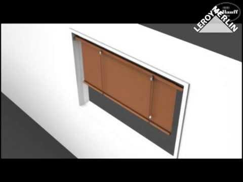 comment poser store enrouleur jour nuit la r ponse est sur. Black Bedroom Furniture Sets. Home Design Ideas