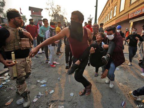 اشتباكات واقتحام لساحة التحرير.. آخر مستجدات احتجاجات العراق