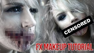 Speak No Evil - Zombie Mouth Special FX Makeup Tutorial - YouTube