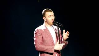 SAM SMITH - WRITINGS ON THE WALL - LIVE IN MANCHESTER 28/03/2018
