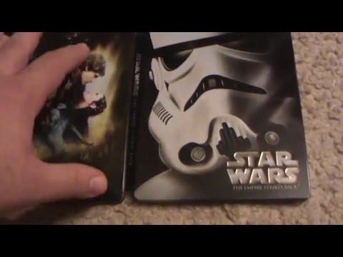 Star Wars Episode V: The Empire Strikes Back Blu-Ray Steelbook Unboxing