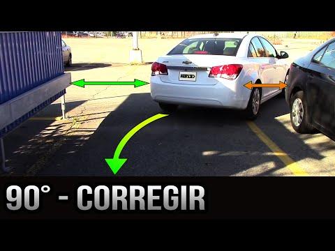 Estacionamiento a 90 grados - Cómo corregir