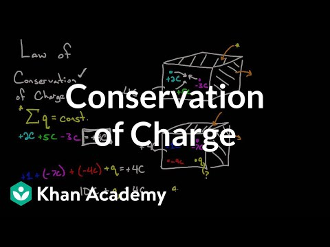 Conservation Of Charge Video Khan Academy