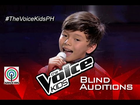 "The Voice Kids Philippines 2015 Blind Audition: ""Hey Soul Sister "" By Luke"