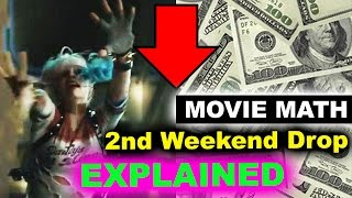 Box Office for Suicide Squad - 2nd Weekend Drop, Open Letter to Warner Bros by Beyond The Trailer