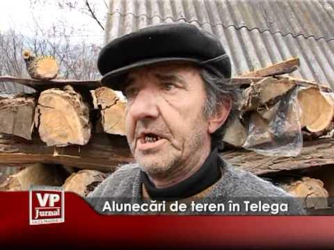 Alunecări de teren în Telega