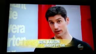 Ben Aaron visits Dancing with the Stars