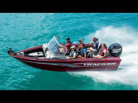 TRACKER Boats: 2017 Targa V-18 Combo Deep V Aluminum Fishing Boat