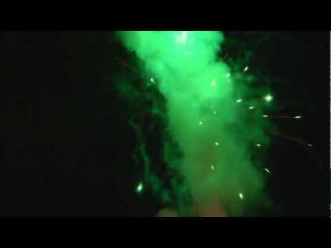 28.08.2011 r. - Amatorski Pokaz Sztucznych Ogni - Impreza Prywatna