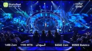Arab Idol -الأداء - عبد الكريم حمدان - بينى و بينك