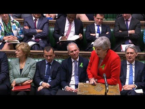 Großbritannien: Premierministerin May stimmt zu, Rücktr ...