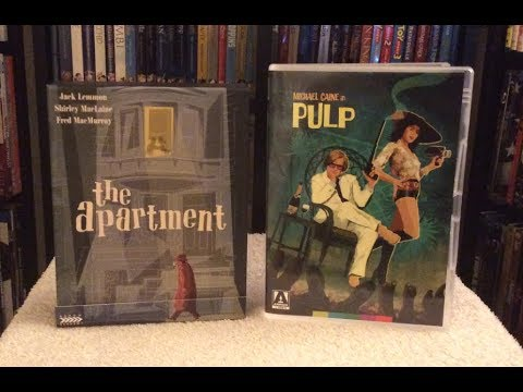 The Apartment / Pulp BLU RAY REVIEW + Unboxing - Arrow Academy/Video - Limited Edition