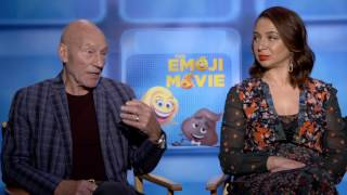 "The EMOJI Movie: Sir Patrick Stewart ""Poop"", Maya Rudolph ""Smiler"" Official Movie InterviewSUBSCRIBE: http://goo.gl/mHkEX9 FOLLOW US: http://goo.gl/7SoFjWLIKE US: http://goo.gl/6srxoUCheck out Movie Behind the Scenes, Interviews, Movie Red Carpet Premieres, Broll and more from ScreenSlam.comPart of the Maker Studios"