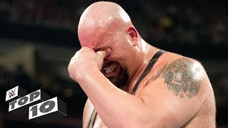 Any Superstar can be overcome with emotion, but some get there just a little faster than others. Here are 10 Superstars who aren't shy about having a good cry in front of the WWE Universe.More ACTION on WWE NETWORK : http://wwenetwork.comSubscribe to WWE on YouTube: http://bit.ly/1i64OdTMust-See WWE videos on YouTube: https://goo.gl/QmhBofVisit WWE.com: http://goo.gl/akf0J4