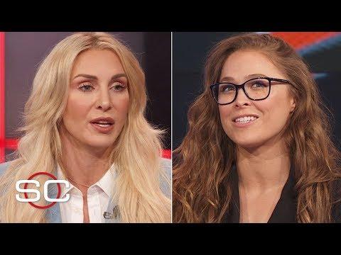 Ronda Rousey, Charlotte Flair, Becky Lynch talk women's main event at WrestleMania 35   SportsCenter