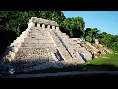 Encuentran sistema hidráulico bajo tumba del rey maya de Palenque, México