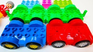 Video Learn Colors RED, GREEN, BLUE with Duplo Cars | A Building Blocks Toys Video MP3, 3GP, MP4, WEBM, AVI, FLV April 2019