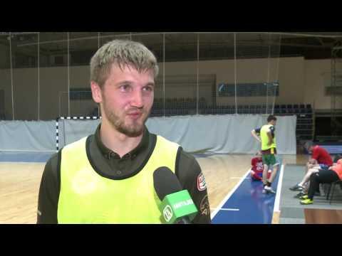 Андрей Батырев о тренировке с журналистами и отпуске